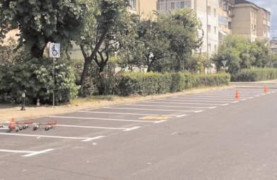 Parcare modernizată în Cartierul Matei Basarab