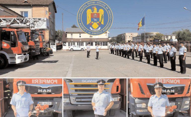"""Avansări în grad şi treceri în rezervă la ISU """"Basarab I"""" Dâmboviţa"""