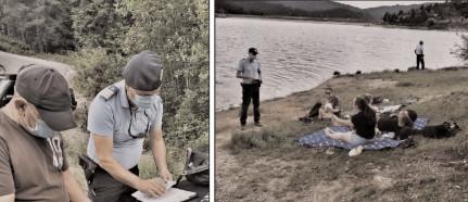 Noi acţiuni de informare şi prevenire desfăşurate de jandarmii montani