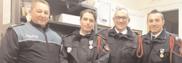 MISIUNE A POLIŢIŞILOR ROMÂNI, ÎN FRANŢA