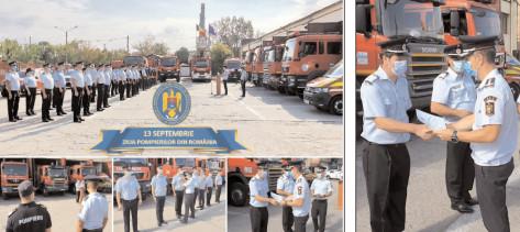Ziua Pompierilor din România aniversată de pompierii dâmboviţeni