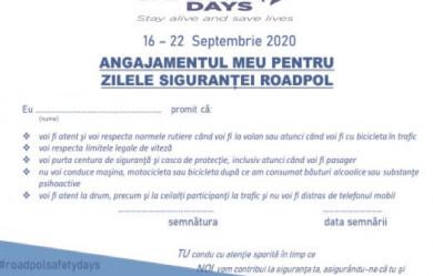 17 septembrie 2020, o zi fără persoane decedate din accidente rutiere produse pe drumurile din Europa