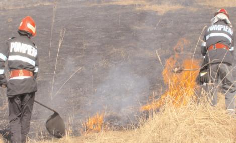 STOP – incendiilor de vegetaţie