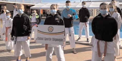 8 medalii pentru karateka de la CS Târgovişte