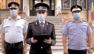 Poliţiştii şi jandarmii au reuşit cu succes să asigure toate măsurile bunei desfăşurări a alegerilor în Dâmboviţa