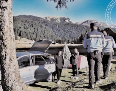 Jandarmii montani au desfăşurat peste 40 de acţiuni informativ-preventive în luna septembrie