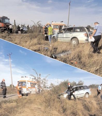 Asigurare de zonă la un accident rutier produs pe DJ-711A, în localitatea Colacu