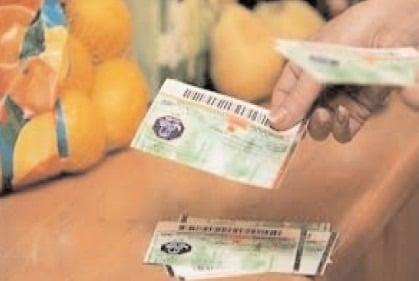 Valoarea tichetelor de masa a crescut cu un ban