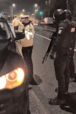 Razie a poliţiştilor din Dâmboviţa