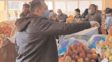 Târgoviste : Piaţa 1 Mai a fost reorganizată în spaţiu deschis
