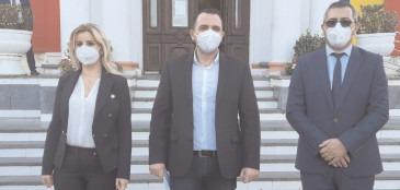 Cristian Stan face echipă şi în acest mandat cu viceprimarii Monica Ilie şi Cătălin Rădulescu