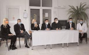 Preşedintele CJ a făcut o vizită de lucru la Sanatoriul Moroeni