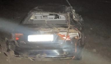 Asigurare de zona la un accident rutier produs în Comuna Petreşti