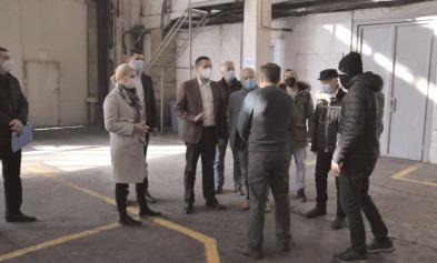 Vizită de lucru a conducerii CJ la Parcul industrial Moreni