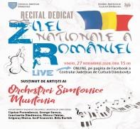 """Concert online susţinut de Orchestra Simfonică """"Muntenia"""", cu ocazia Zilei Naţionale a României"""