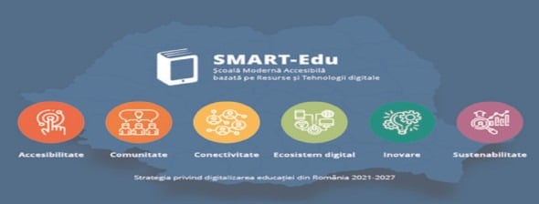 Strategia de Digitalizare a Educaţiei din România 2021-2027 -SMART-Edu, lansată în consultare publică până în data de 15 februarie 2021