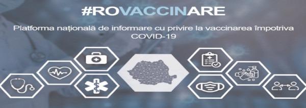 Mai multe modalităţi privind înscrierea pe platforma de programare pentru vaccinare împotriva COVID-19