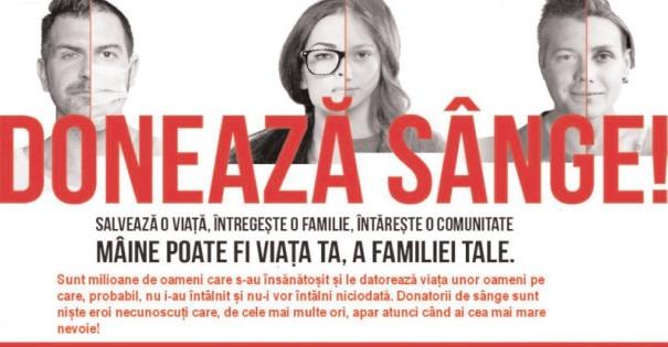 Spitalele din Dâmboviţa şi din Bucureşti au nevoie de sânge!