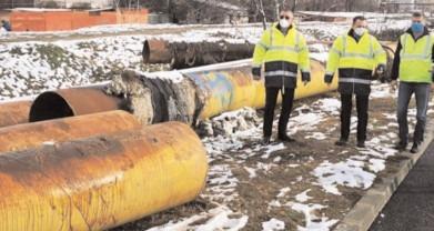 Târgovişte: A început dezafectarea fostelor conducte magistrale de termoficare