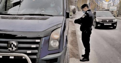 40 de sancţiuni contravenţionale în valoare de 13.550 lei, aplicate de jandarmii dâmboviţeni