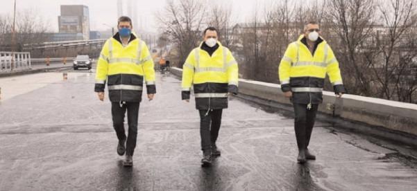 Târaovişte: Continuă lucrările la şoseaua de centură