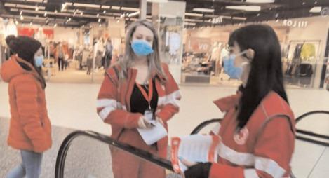 Campania de informare a Crucii Roşii, desfăşurată în parteneriat cu USAID şi IFRC