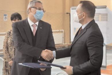 """Contract de finanţare de 20 de milioane de lei pentru modernizarea Şcolii """"Tudor Vladimirescu"""""""