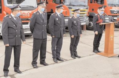 Avansări în grad la ISU Dâmboviţa