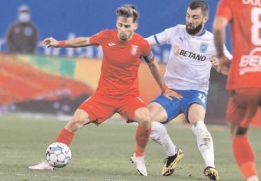 A TREIA OARĂ N-A MAI MERS Chindia Târgovişte – Universitatea Craiova 0-1 (0-1)