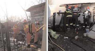 Incendiu la o gospodărie din comuna Răzvad
