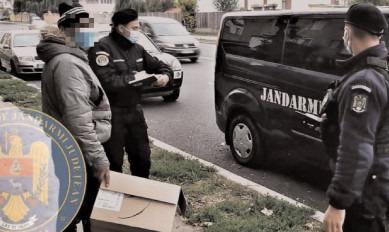 Jandarmii au continuat acţiunile de informare şi prevenire în context pandemic