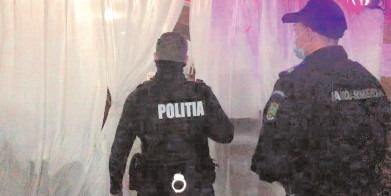 Petrecere oprită de poliţiştii dâmboviţeni