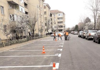 Străzi cu sens unic în Cartierul Matei Basarab