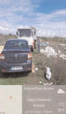 Un alt camion confiscat de Garda Mediu, pentru transport şi depozitare ilegală de deşeuri