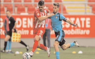 CHINDIA MAI FACE O VICTIMĂ Şl RĂMÂNE FĂRĂ GOL PRIMIT ÎN PLAYOUT UTA Arad – Chindia Târgovişte 0-1 (0-0)