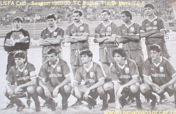 CU FC PORTO, LA CENTENARUL DIVIZIONAREI C, FLACĂRA MORENI