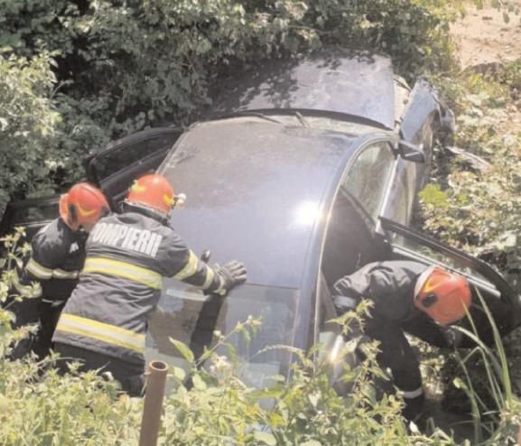 Cinci victime în urma unui accident
