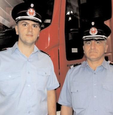 Doi ofiţeri au intrat în familia ISU Dâmboviţa