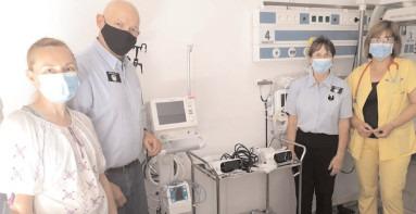 Secţia de Neonatologie a Spitalului Judeţean de Urgenţă Târgovişte a primit o donaţie de 100.000 de lei