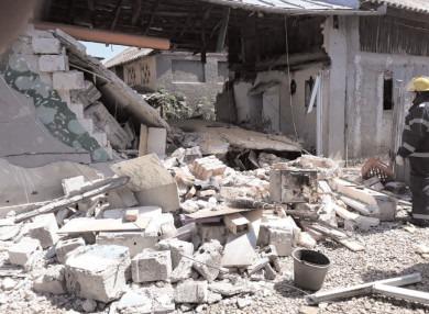 Explozie la Mătăsaru