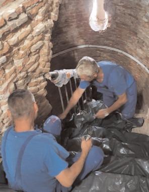 Turla Bisericii Sf. Vineri și Turnul Chindiei sunt în plin proces de restaurare