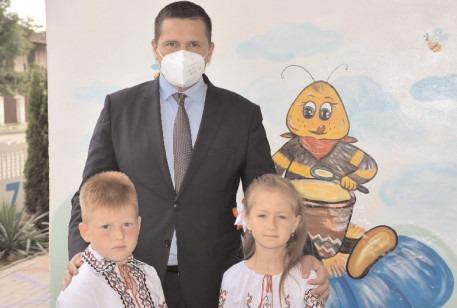 100 de copii din Republica Moldova, oaspeții Consiliului Județean Dâmbovița