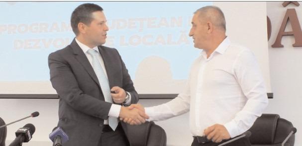 Șelaru: Drum vicinal modernizat în asociere cu Consiliul Județean