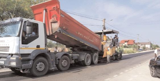 CJ Dâmbovița continuă programul lucrărilor la infrastructura rutieră, în perioada 9 – 13 august 2021