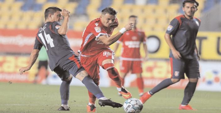 A VENIT PRIMA VICTORIE. Chindia Târgoviște – Dinamo București 1-0 (1-0)