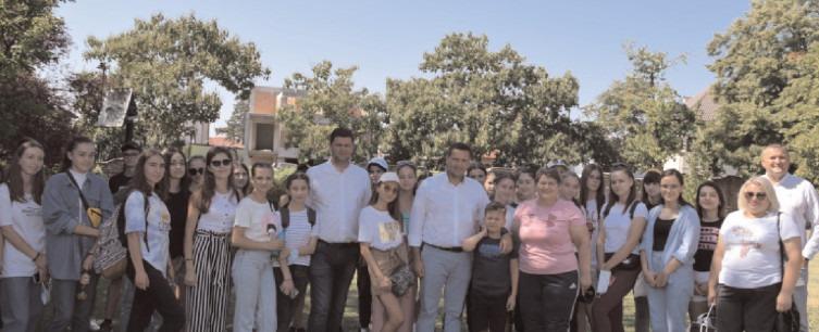 Primii 50 de copii din Raionul laloveni, Republica Moldova, în tabăra Căprioara