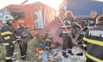 Viața are prioritate, evitați urmările unor accidente rutiere