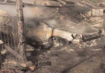 Incendiu într-o gospodărie din satul Viișoara, comuna Ulmi
