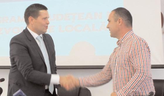 Primarul Comunei Dobra, Dan Nica, bilanț la aproape un an de mandat