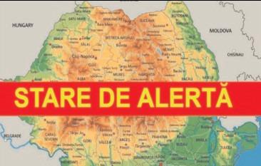Prelungirea stării de alertă pe întreg teritoriul României pentru încă 30 de zile, începând cu 10 septembrie